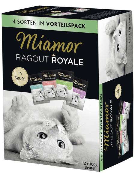 MIAMOR Katzen Nassfutter »Ragout Royale«, Mix, 4 x 4,8 kg