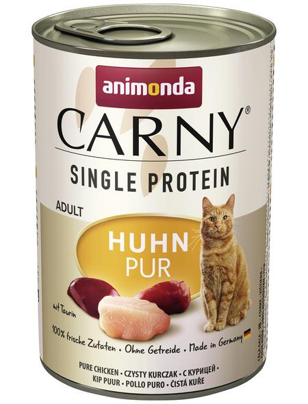 CARNY® Katzen-Nassfutter »Single Protein«, Huhn, 400 g