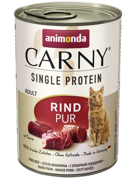 CARNY® Katzen-Nassfutter »Single Protein«, Rind, 400 g