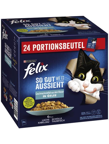 FELIX Katzen-Nassfutter »So gut wie es aussieht«