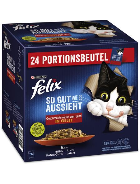 PURINA Katzen Nassfutter »So gut wie es aussieht «, Mix, 4x8,16 kg