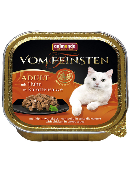 ANIMONDA Katzen Nassfutter »Vom Feinsten«, Huhn, 32x100 g