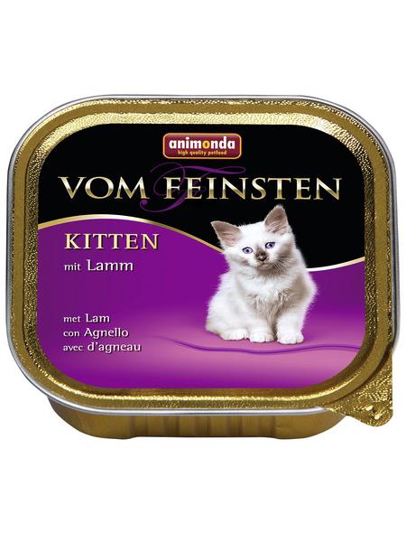 animondo Katzen Nassfutter »Vom Feinsten«, Lamm, 32x100 g
