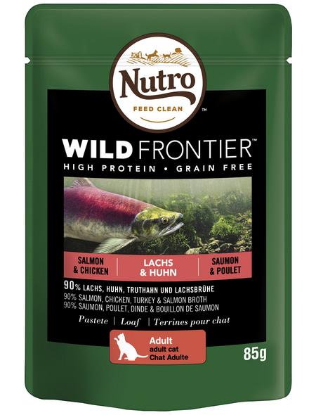 NUTRO Katzen Nassfutter »WILD FRONTIER«, 85 g
