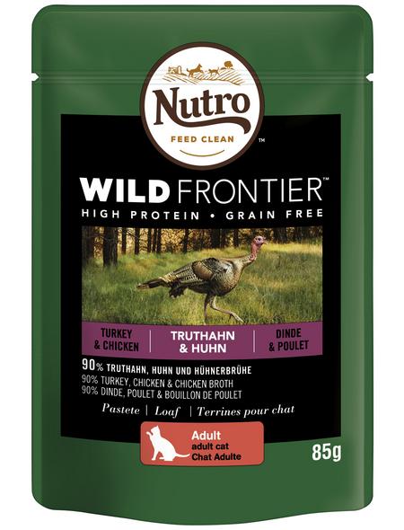 NUTRO Katzen Nassfutter »Wild Frontier«, Truthahn / Huhn, 24 x 85 g