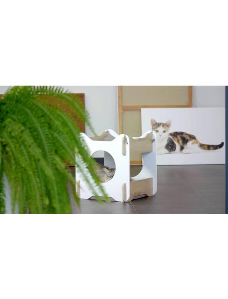 Katzenmöbel »Cabana«, eichefarben
