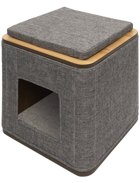 Katzenmöbel »Cubo«, grau