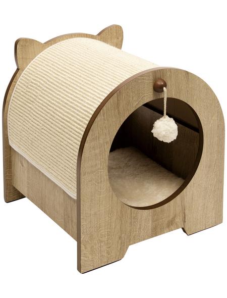 Katzenmöbel »Minou«, eichefarben
