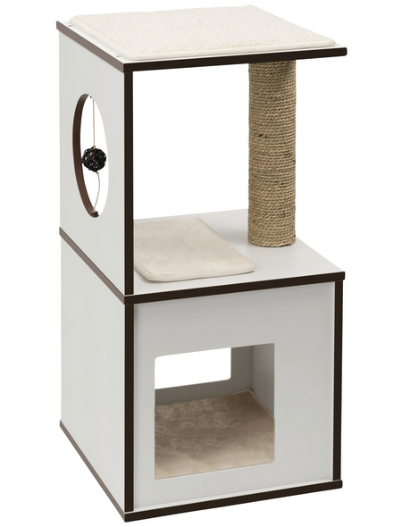 Katzenmöbel »V-box«, weiß