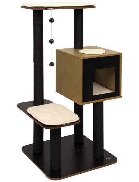 Katzenmöbel »V-High Base«, schwarz