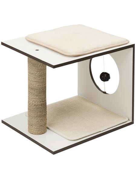 Katzenmöbel »V-stool«, weiß