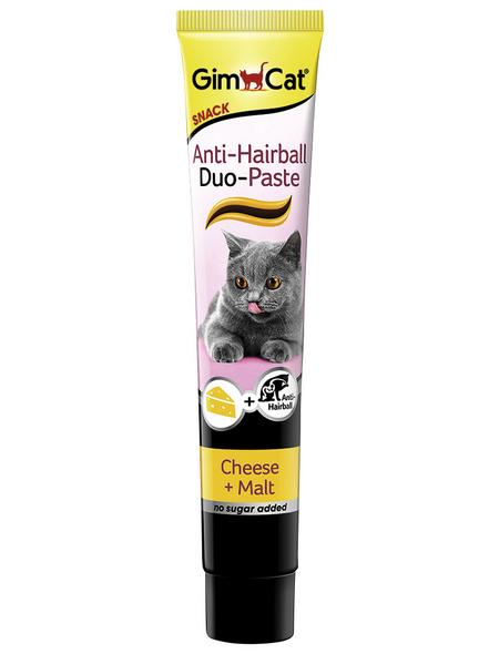 GIMCAT Katzensnack »Anti-Hairball«, Käse, 8x50 g