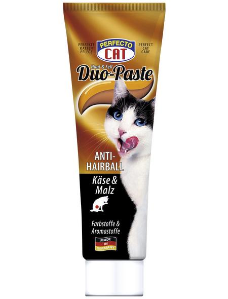 PERFECTO CAT Katzensnack »Duo-Paste«, Käse, 12x100 g