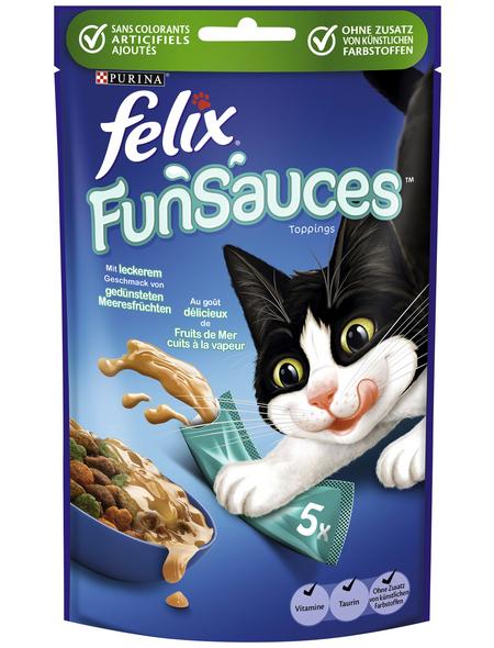 FELIX Katzensnack »FUNSAUCES«, Meeresfrüchte, 900 g