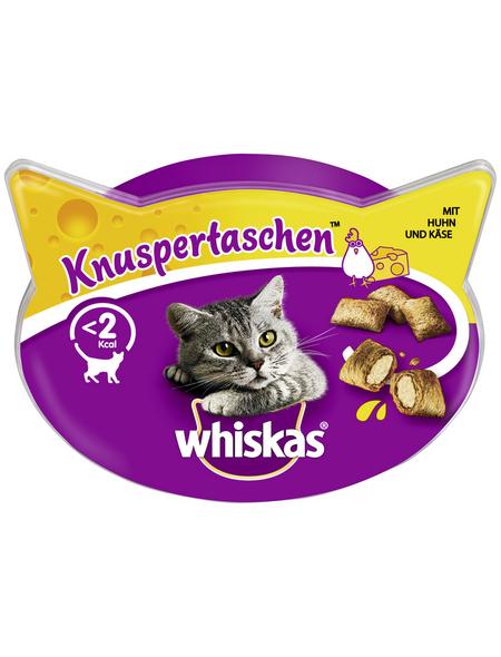 WHISKAS Katzensnack »Knuspertaschen™«, 60 g, Huhn