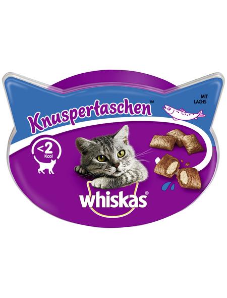 WHISKAS Katzensnack »Knuspertaschen™«, 60 g, Lachs