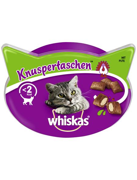 WHISKAS Katzensnack »Knuspertaschen™«, 60 g, Pute