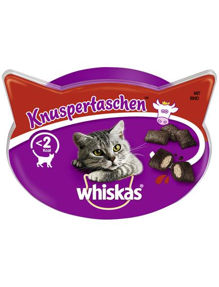 WHISKAS Katzensnack »Knuspertaschen™«, 60 g, Rind