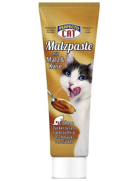 PERFECTO CAT Katzensnack »Malzpaste«, Käse, 12x100 g