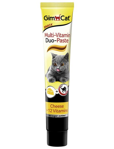 GIMCAT Katzensnack »Multi-Vitamin«, Käse, 8x50 g