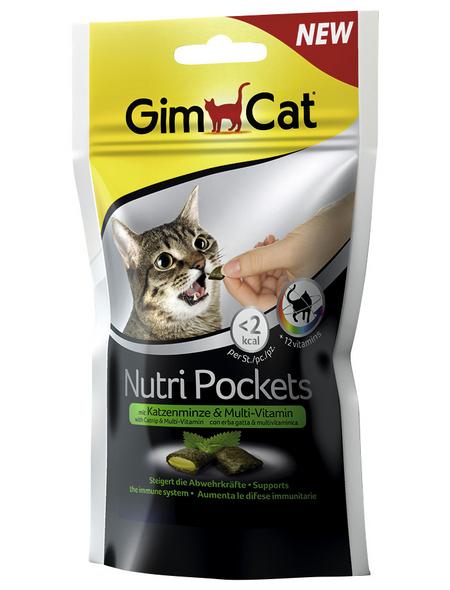 GIMCAT Katzensnack »Nutri Pockets «, Kräuter, 60 g
