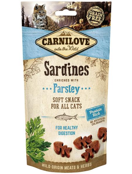 carnilove Katzensnack »Soft Snack«, 50 g, Fisch