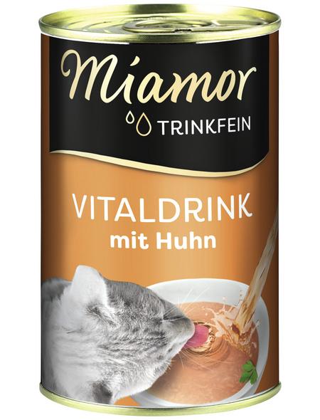 MIAMOR Katzensnack »Trinkfein«, Huhn, 24x135 g