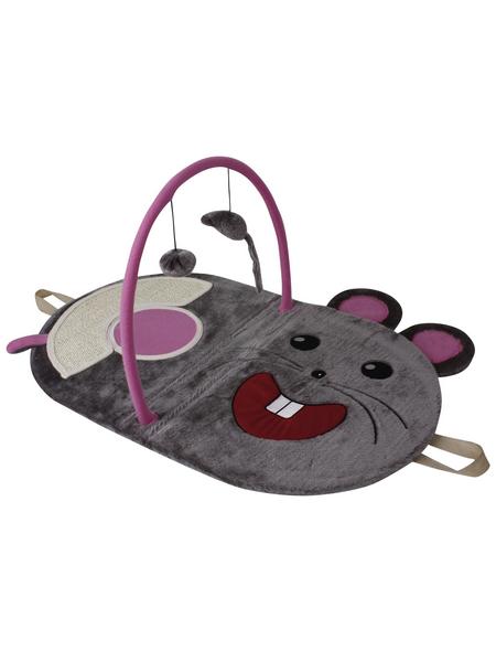 Katzenspielzeug, grau