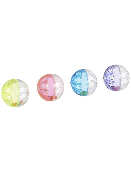 TRIXIE Katzenspielzeug, Rasselball, Kunststoff