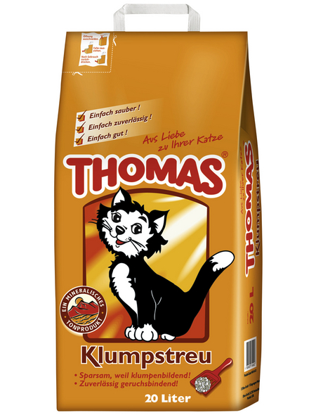 THOMAS Katzenstreu, 1 Sack, 21,2 kg