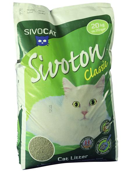 SIVOCAT Katzenstreu, 1 Stück, 20 kg