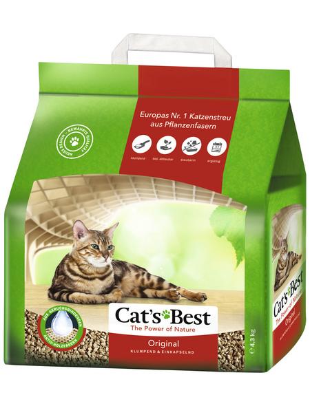 CAT'S BEST Katzenstreu »Öko Plus«, 1 Sack, 4,4 kg