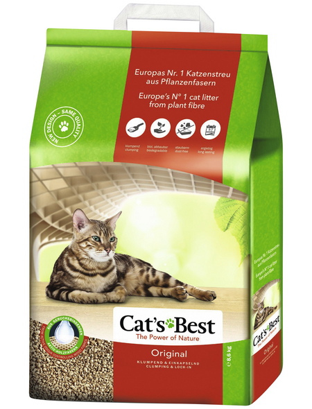 CAT'S BEST Katzenstreu »Original«, 1 Sack, 8,7 kg