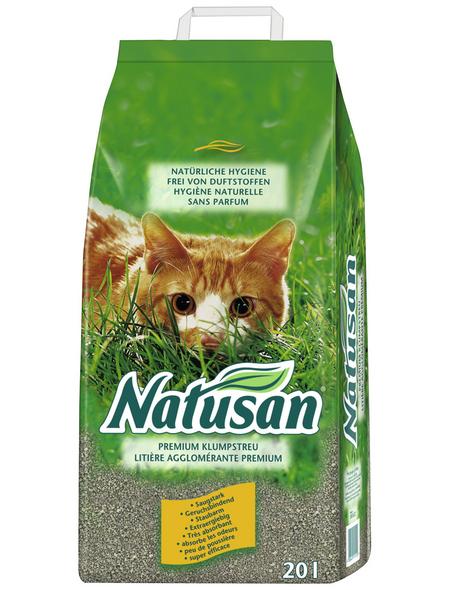 NATUSAN® Katzenstreu »Premium«, 1 Sack, 20,2 kg