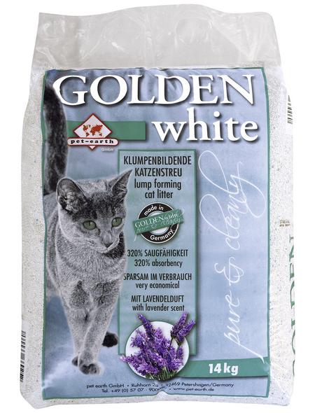GOLDEN Katzenstreu »white«, 1 Sack, 14,27 kg