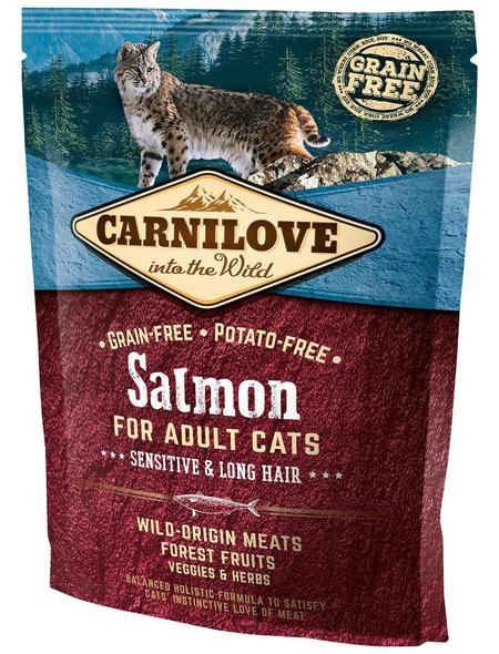 carnilove Katzentrockenfutter »Carnilove Cat«, Lachs, 0,4 kg
