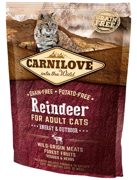 carnilove Katzentrockenfutter »Carnilove Cat«, Rentier, 0,4 kg