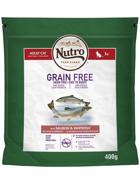 NUTRO Katzentrockenfutter »Grain Free«, 0,4 kg