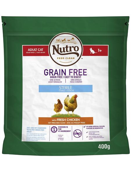 NUTRO Katzentrockenfutter »Grain Free«, 6 Beutel