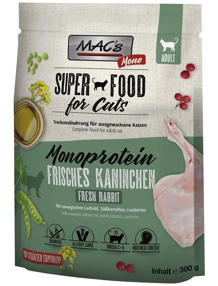 MAC'S Katzentrockenfutter »Mono«, 8 Beutel