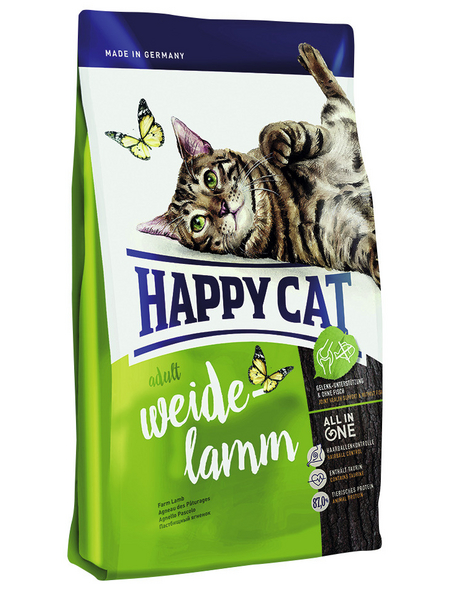 HAPPY CAT Katzentrockenfutter »Supreme«, Lamm, 10 kg