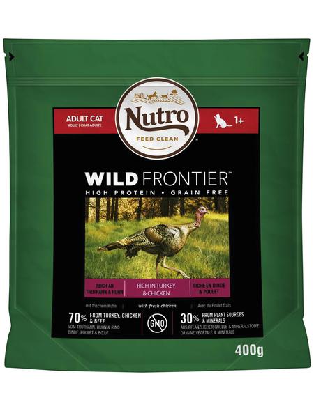 NUTRO Katzentrockenfutter »Wild Frontier«, 0,4 kg