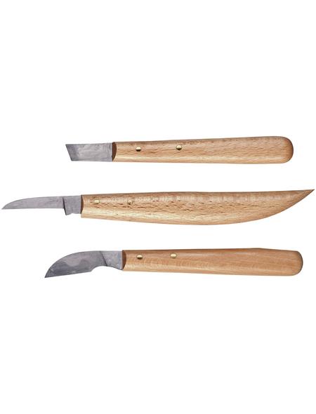 CONNEX Kerbschnitzgarnitur, für Holz
