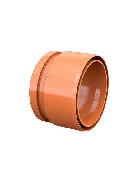 KG-Anschlussstück, Nennweite: 110 mm, Hart-PVC