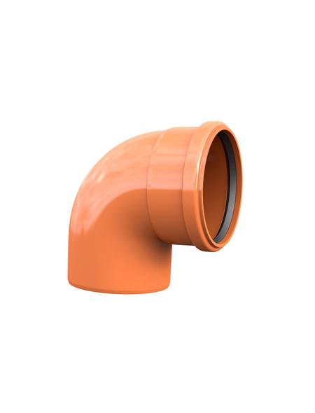 KG-Bogen, Nennweite: 110 mm, , Hart-PVC