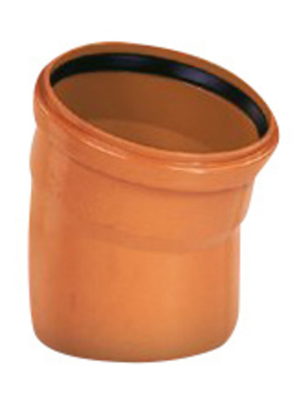 KG-Bogen, Nennweite: 125 mm, , Hart-PVC