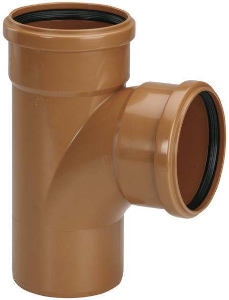 KG-Einfach-Abzweig, DN 125/110, Hart-PVC