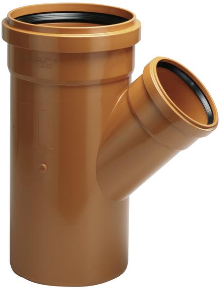 KG-Einfach-Abzweig, DN 125/125, Hart-PVC