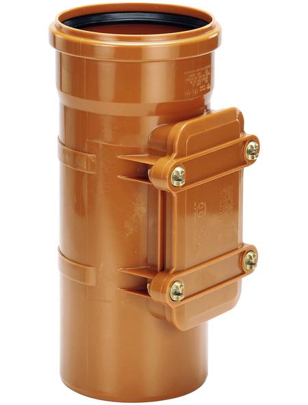 KG-Reinigungsrohr, Nennweite: 110 mm, Hart-PVC