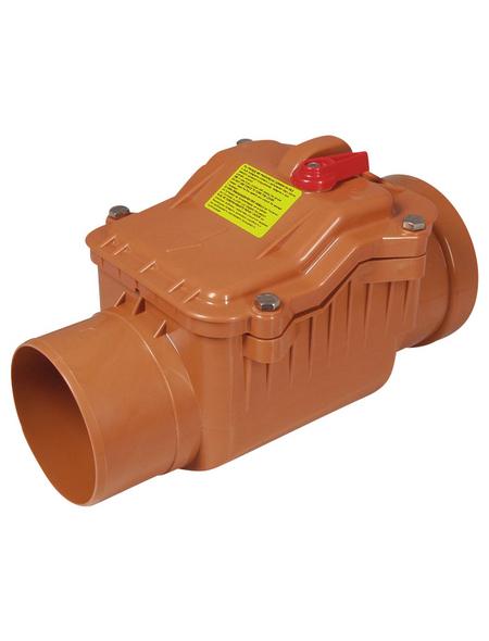 KG-Rückstauverschluss, Nennweite: 125 mm, , Hart-PVC